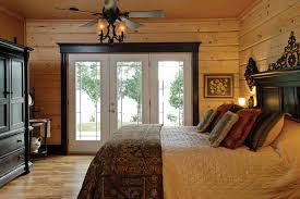 Log Cabin Interior Doors A Timber Frame Lakeside Log Cabin