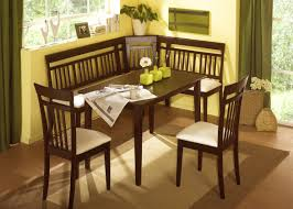 bench amazing corner dining set with bench traditional oak