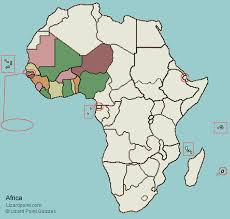 west africa map quiz test your geography knowledge west africa countries lizard point