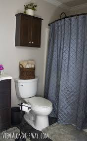 Bathroom Shower Rod 5 Easy Steps To A Luxury Guest Bathroom On A Budget
