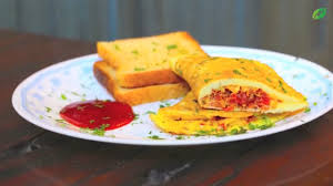 stuffed masala egg omelette recipes indian style healthy foods