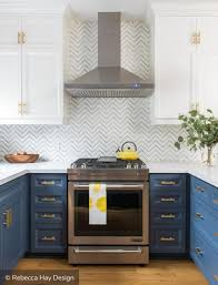 top cabinets different color than bottom two tone kitchen cabinets to inspire your next redesign