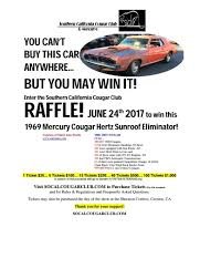 2017 car show raffle hosted by socal cougar club