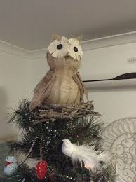 Ideas For Christmas Tree Toppers Homemade by Best 25 Owl Christmas Tree Ideas On Pinterest White Christmas