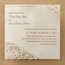 vintage lace wedding invitations lace wedding invites size of wedding invitations with brown