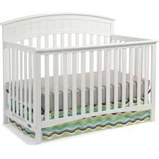 Graco Convertible Crib Recall Graco Charleston 4 In 1 Convertible Crib White Walmart