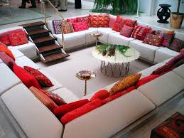 sublime oversized floor pillows inspirations and living room with