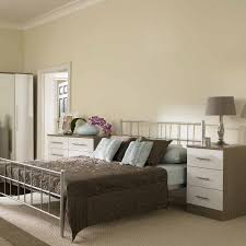 White Gloss Assembled Bedroom Furniture White And Wood Bedroom Painted Furniture Capri White Painted Wood