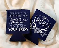 wedding koozie ideas new to siphiphooray on etsy antler wedding favor rustic bridal