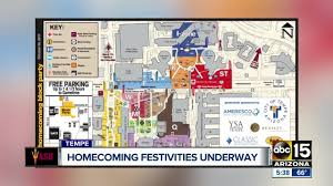 Usc Parking Map 2017 Asu Homecoming 3 Free Events To Check Out This Weekend