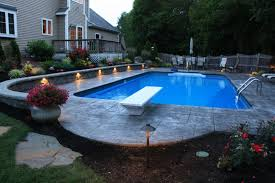 low voltage lighting near swimming pool whitmore s yard care inc landscape contractors cranberry growers