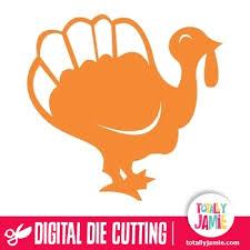 thanksgiving turkey cutout totallyjamie svg cut files graphic