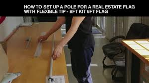 Cheap Feather Flags How To Set Up Assembly A Pole For A Real Estate Feather Flag