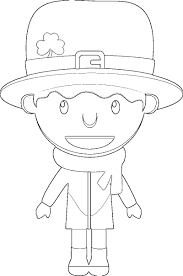 saint patrick u0027s day coloring pages