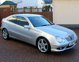 mercedes c class evolution s coupe 6 speed manual 1 owner full