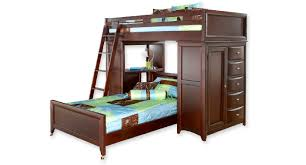 bedding winsome loft bunk bed with desk