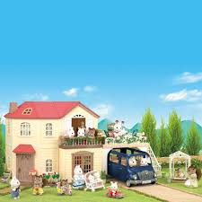 House With Carport by Sylvanian Families Maple Manor With Carport 70 00 Hamleys For