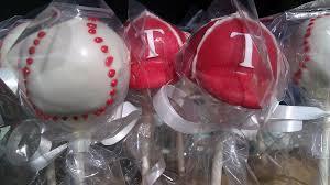 texas ranger baseball cake pops bubbles cakery flickr