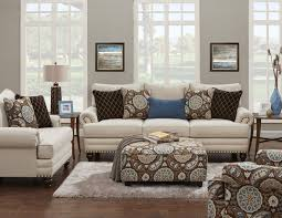 living room groups fusion furniture 622 traditional accent chair with rolled arms and