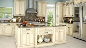 two tone kitchen cabinets grey and white painted finish gray walls