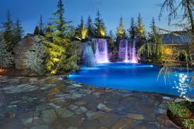 Oklahoma waterfalls images Waterfalls grottos give this oklahoma pool multiple jpg
