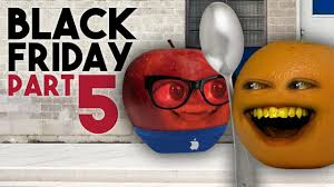 annoying orange black friday day 5 end of the line