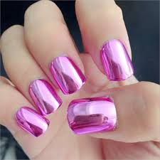 online get cheap full set metallic nails aliexpress com alibaba