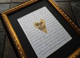 wedding gift ideas for parents best 25 parent wedding gifts ideas on wedding