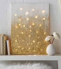 Brilliantly Gold DIY Projects Teen Apartment Gold Diy And - Diy cheap home decor