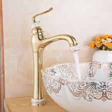 Silver And Gold Bathroom Faucets Online Buy Wholesale Gold Bathroom Faucets From China Gold