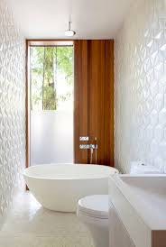 72 best interior design favorite bathrooms images on pinterest geometric tile white block tile bathroom walls and floor