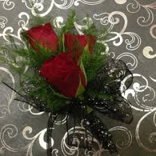 Red Rose Wrist Corsage Prom Flower Delivery In Camdenton Janine U0027s Flowers