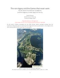 Map Of Rio De Janeiro The Non Legacy And The Games That Never Were Rio De Janeiro U0027s