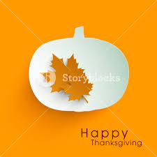 happy thanksgiving day concept with beautiful pumpkin and autumn