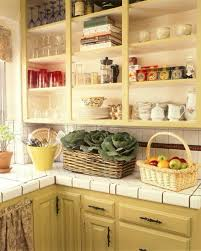 open shelves kitchen design ideas painting kitchen cabinets hgtv