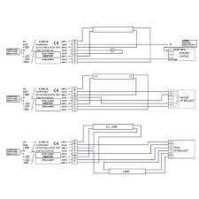 emergency fluorescent light wiring diagram