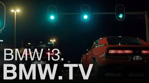 2018 bmw i3s races classic dodge charger in first commercials