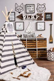 best 25 boy rooms ideas on pinterest boy bedrooms boy room and give your little explorer the perfect place to play with a woodland themed playroom