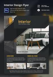 interior design simple interior design flyers style home design
