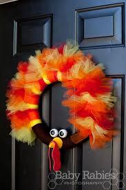 thom the turkey tulle wreath tutorial turkey wreath turkey and