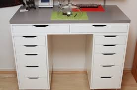 ikea alex desk drawer hackers help how to hack this into a corner desk ikea hackers