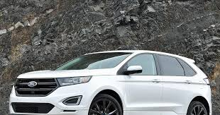 white ford edge ratings and review 2016 ford edge ny daily