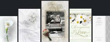 Programs For Wedding Wedding Programs Fast Home Wedding Programs Fast