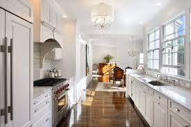 White Galley Kitchen Designs | white galley kitchen houzz
