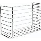 amazon com decobros wall door mount kitchen wrap organizer rack