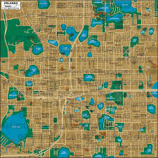 Map Of Pointe Orlando by Geoatlas City Maps Orlando Map City Illustrator Fully