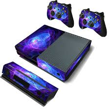 xbox one design cool design pvc purple cover protector decal skin cover sticker
