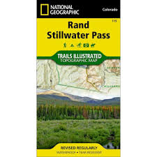 National Geographic Topo Maps National Geographic Rand Stillwater Pass Trails Illustrated Topo