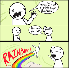 Rainbow Meme - worried by grabs the rainbow meme