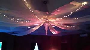 wedding reception decorations with drapes drapery ideas to stun
